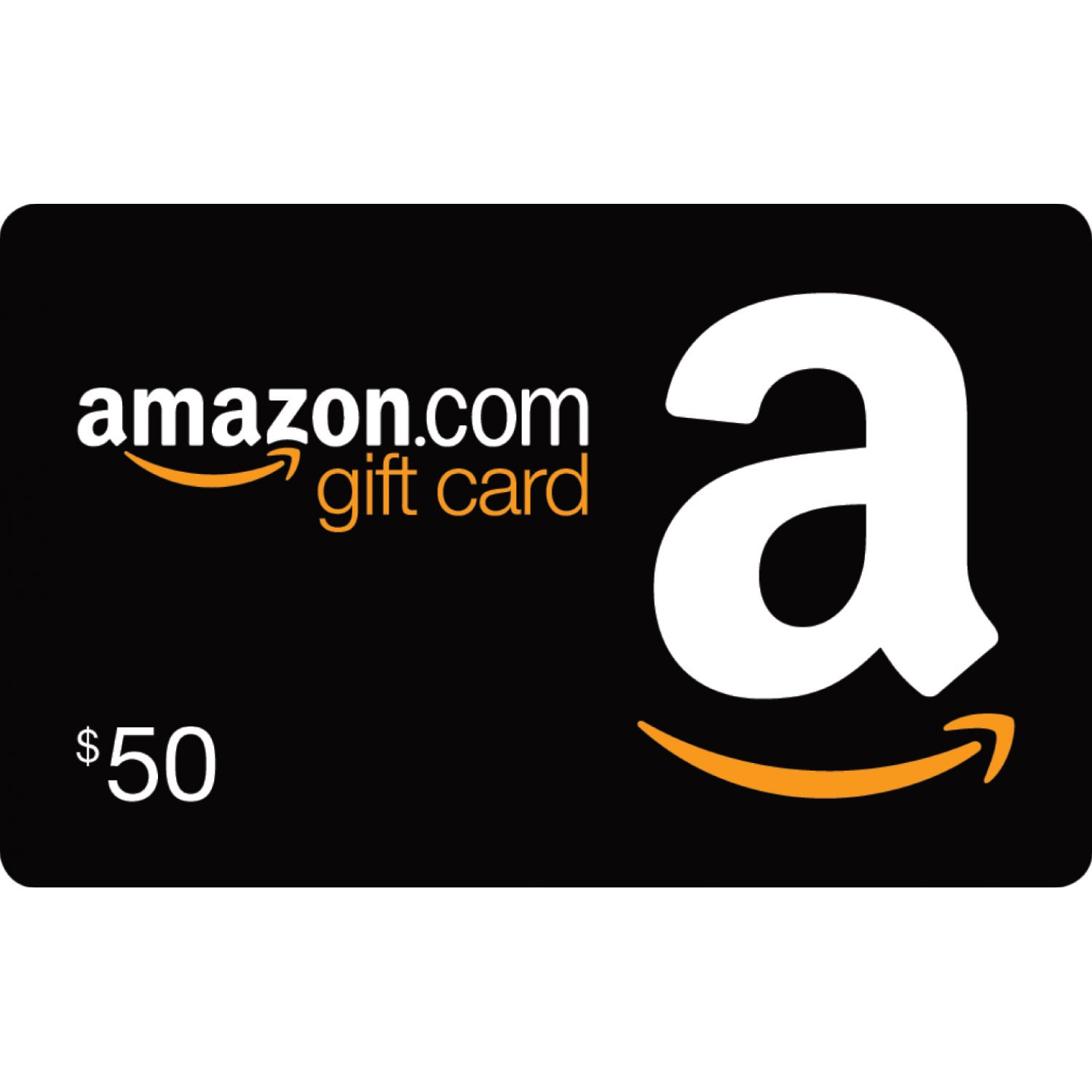 Amazon $50 gift card photo