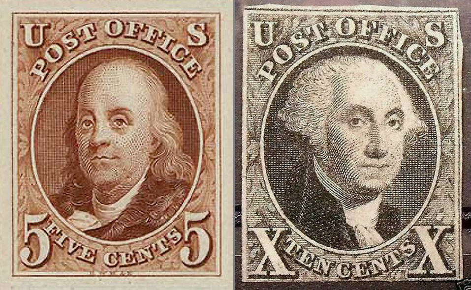First US Stamps