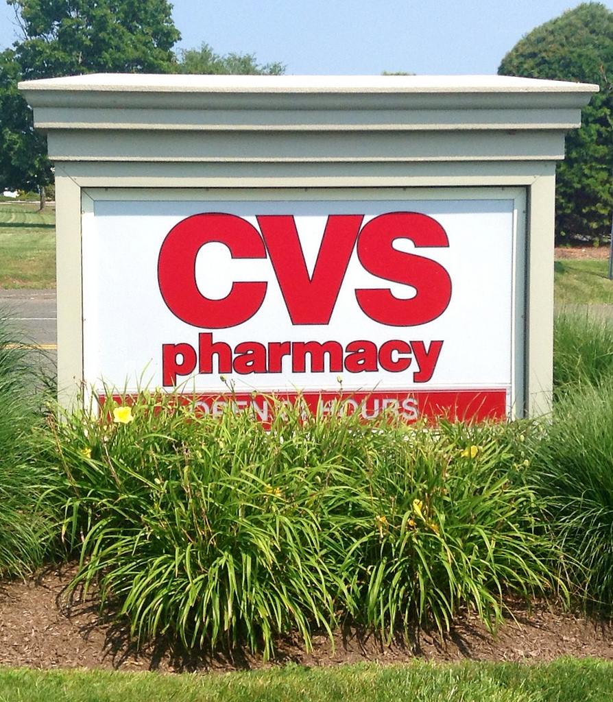 CVS store sign